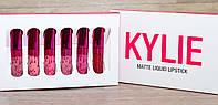 Набор жидких помад Matte Liquid Lipstick Kylie Valentine Collection