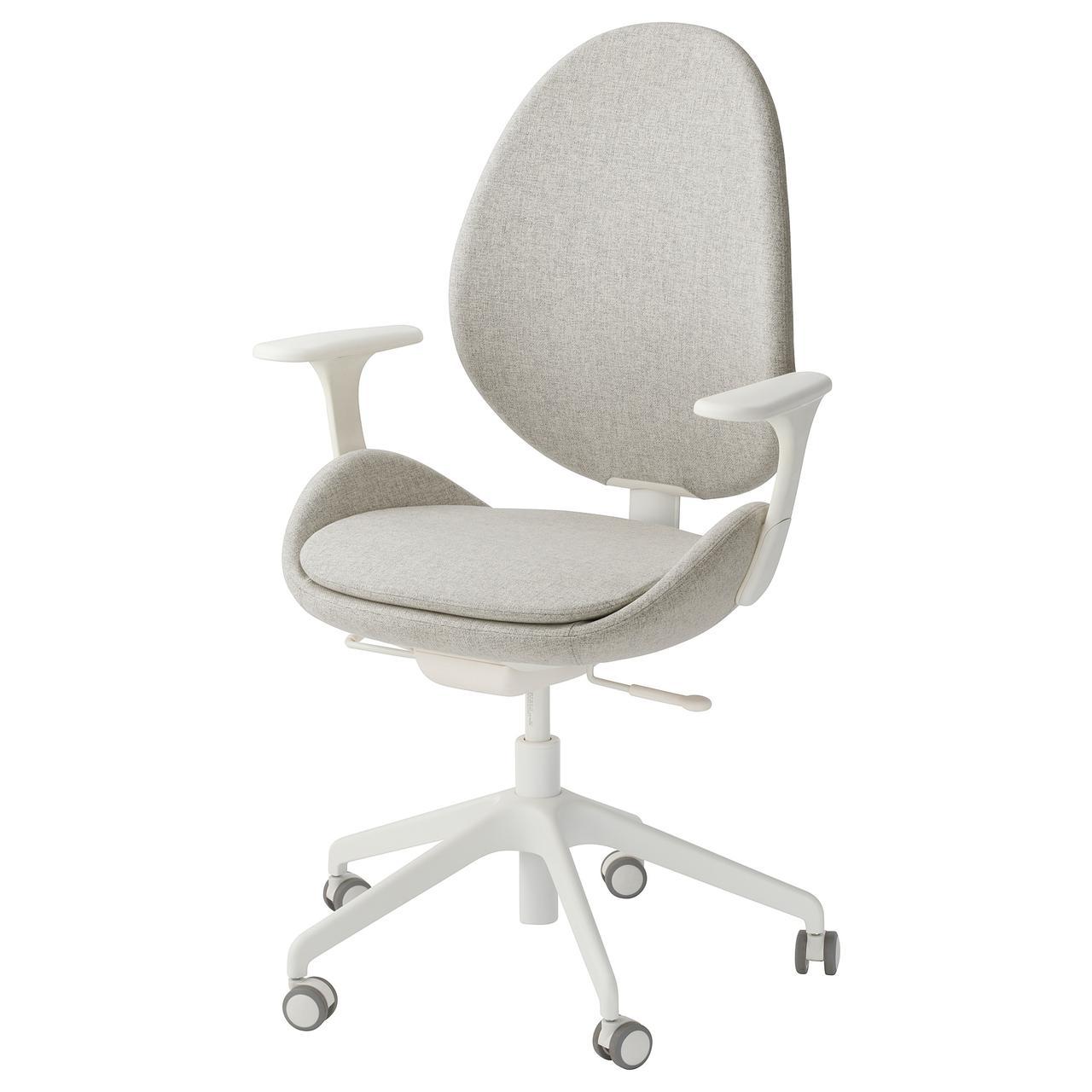IKEA HATTEFJALL (492.521.19) Рабочий стул с подлокотниками