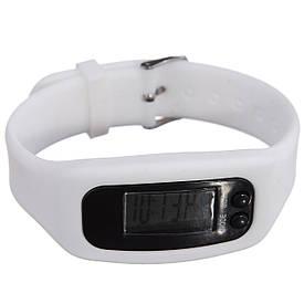 Часы наручные электронные SPORT+ Пульс (Белые)
