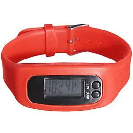 Часы наручные электронные SPORT+ Пульс (Красные)