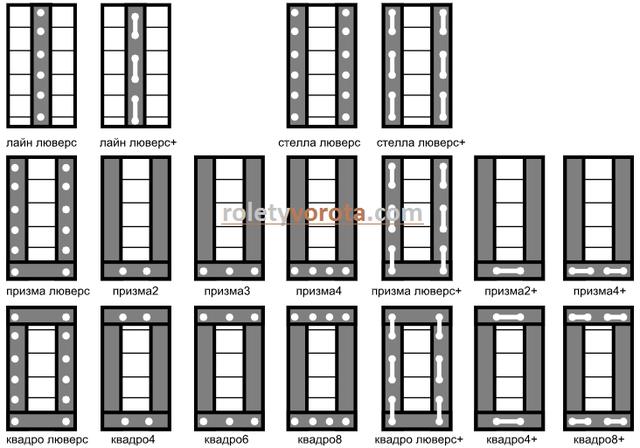 Дизайнерские римские шторы