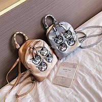 Небольшой рюкзак с мордочками
