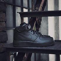 Женские Кроссовки Nike Air Force 1 07 Mid 366731-001 (Оригинал), фото 2
