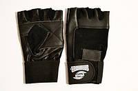 Атлетические перчатки (с широким напульсником)