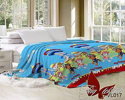 """Плед на детскую кровать """"Щенячий патруль""""JH-VL017"""
