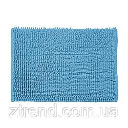 Коврик для ванной комнаты из полиэстера 60*40 синий AWD02161396