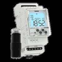 SOU-2/230V Сумеречный контактор с датчиком и с цифровым таймером