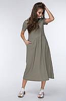 Модное женское платье в 2х цветах LINA, фото 1