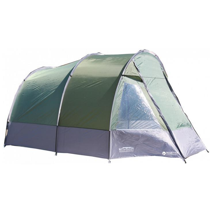 Палатка-тент KILIMANJARO 2017 (220-195)-260-185/170см расчитан на 5чел SS-SBDT-13T-019 5м серая