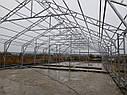 Двускатные теплицы 6х6 под поликарбонат 4 мм стандарт, фото 7