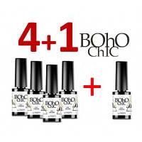 Набор гель лаков Naomi Boho Chic 4+1