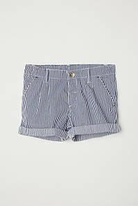 Шорты H&M Cotton Shorts 2-3 года