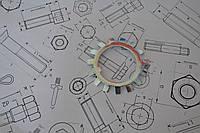 Шайба Ф17 стопорная многолапчатая DIN 5406, фото 1