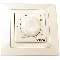 Терморегулятор для теплого пола terneo rtp unic (слоновая кость)
