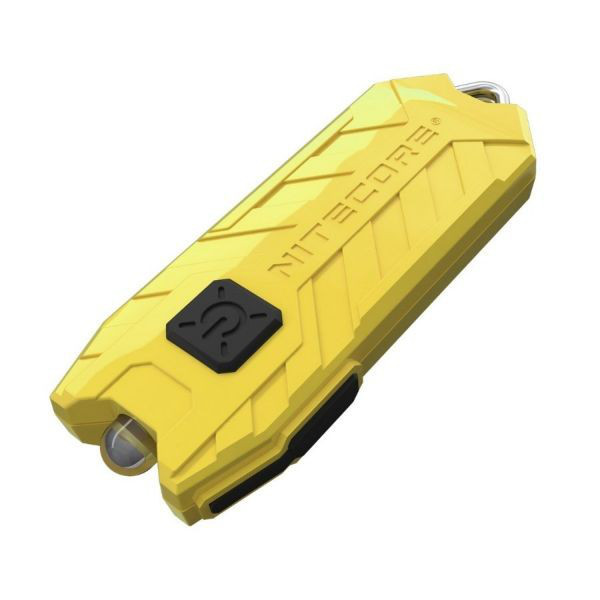Фонарь Nitecore TUBE (1 LED, 45 люмен, 2 режима, USB), жёлтый