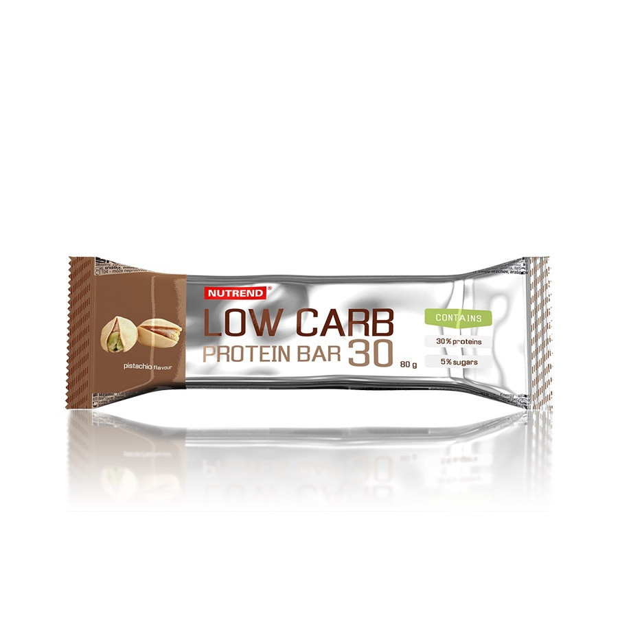 NUTREND Low Carb Protein bar 24x80 g