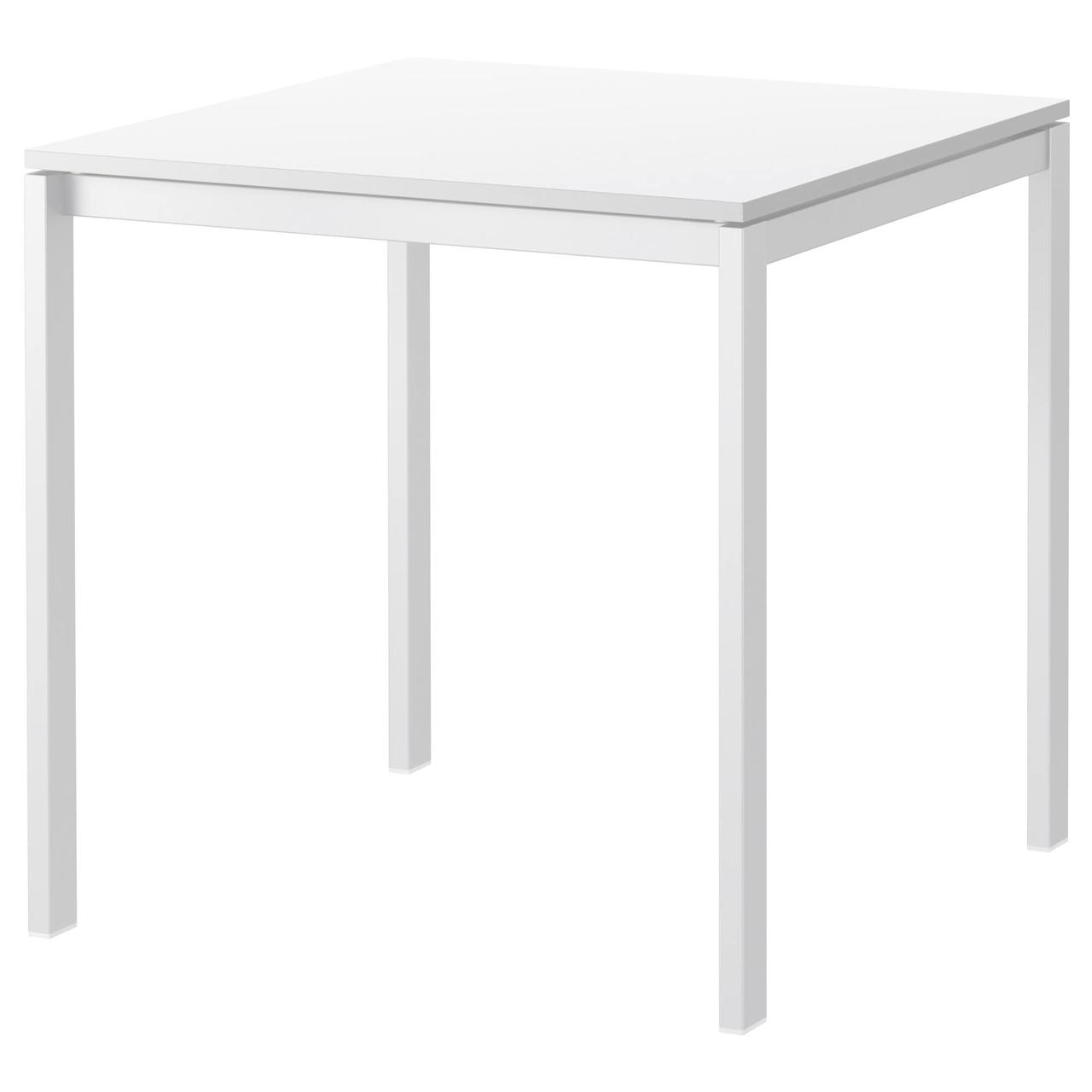 ✅ IKEA MELLTORP (390.117.81) Стол, белый