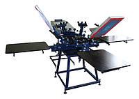 Карусельный станок для шелкотрафаретной печати