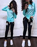 """Женский модный спортивный костюм двухнитка """"Givenchy"""" (расцветки), фото 2"""