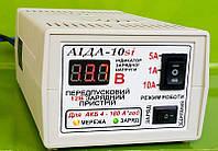 Зарядное предпусковое АІДА-10sі -десульфатирующее с цифр. индикацией для кислотных/гелевых АКБ