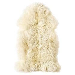 IKEA LUDDE (602.642.67) Овчина, белая