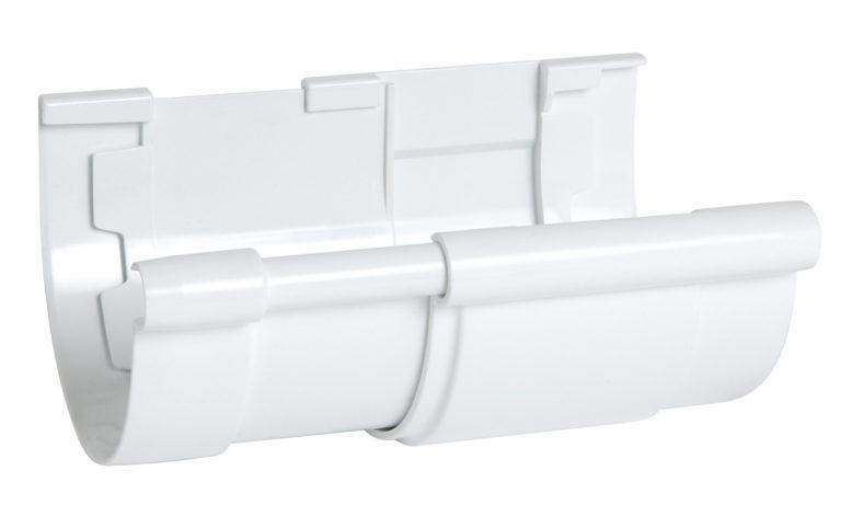 Компенсатор Nicoll для жёлоба Д=115мм., цвет белый