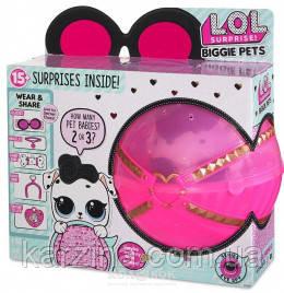 L.O.L. Surprise Biggie Pet- Dog 100% Оригинал Большой Питомцы Оригинал MGA