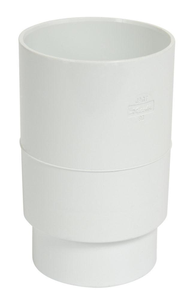 Муфта труби Nicoll, Д=80мм, колір білий