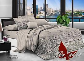 Семейный комплект постельного белья - поплин с компаньоном TM-4901Z