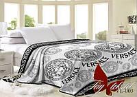 Плед на кровать велсофт VL003