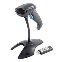 ✅ Беспроводной сканер штрих-кодов Syble XB-5055R с подставкой с функцией сбора данных и автоскан
