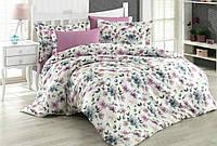 Комплект постельного белья - сатин и жатый шёлк (евро размер)