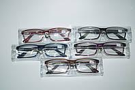 Очки для зрения с флексами в силиконовом  чехле. Диоптрии от +1 до +3. Шаг 0,25