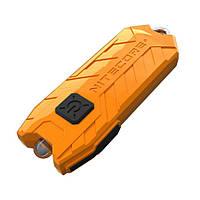Фонарь Nitecore TUBE (1 LED, 45 люмен, 2 режима, USB), оранжевый