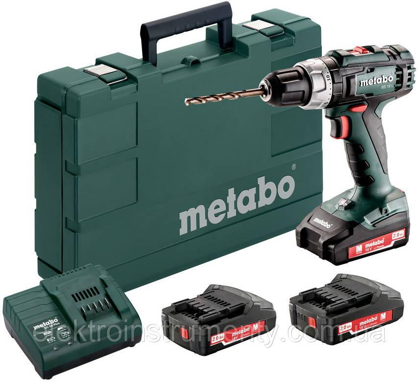 Купить Шуруповерт Metabo BS 18 L Set (602321540)