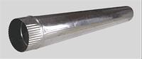 Труба оцинкованая для дымохода d110 1 м