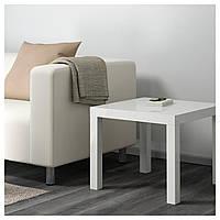 IKEA LACK (601.937.36) Стол, белый полированный