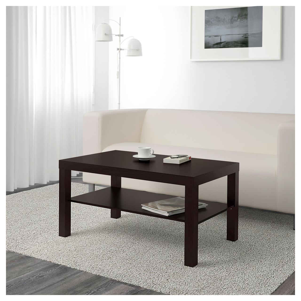 ✅ IKEA LACK (401.042.94) Журнальный столик, черный