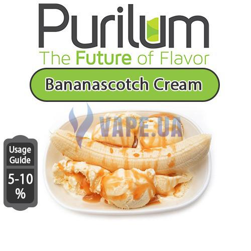 Ароматизатор Purilum - Bananascotch Cream (Спелый банан с ириской)