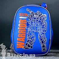 Рюкзак каркасный 1 Вересня 555788 H-25 Robot, 33.5*25*13.5
