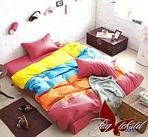 Полуторный комплект постельного белья Color mix APT031