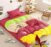 Полуторный комплект постельного белья Color mix APT032