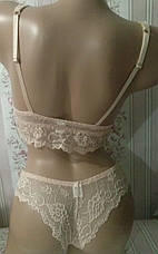 Эротический кружевной браллет и бикини, фото 3