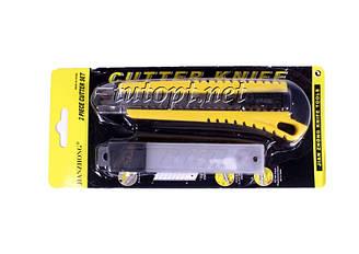 Нож канцелярский JianZhong с запасными лезвиями