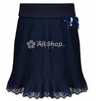 Детская школьная юбка Mone для девочки,синий,р.128, 134, 140, 146, 152, 158, 164