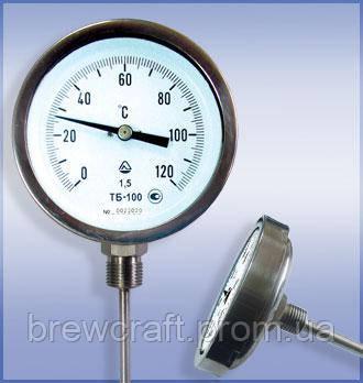 Термометр биметаллический ТБ-63, класс точности 2,5. Радиальный, фото 2