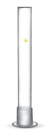 Цилиндр для ареометра с носиком 50 мл. Стекло, фото 2