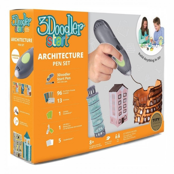 Набор 3D-ручка 3Doodler Start Архитектор / 3Doodler Start Architecture 3D Printing Pen Set