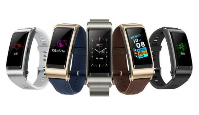 Huawei сегодня аносировали фитнес-браслет TalkBand5