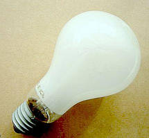 Лампа накаливания фото студийная Ф220-300 A60 E27